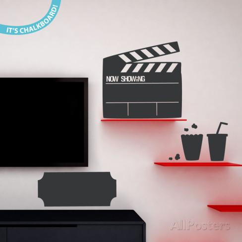 映画黒板ウォールステッカー・壁用シール