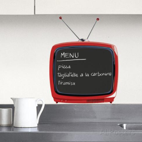 テレビウォールステッカー・壁用シール(防水)