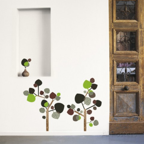 秋の樹ウォールステッカー・壁用シール