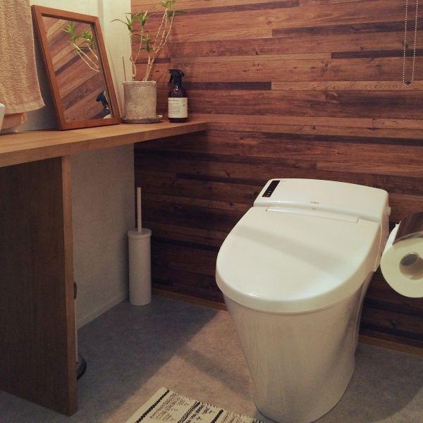 身近なアイテムでトイレをオシャレに簡単アイデアリメイクdiyで