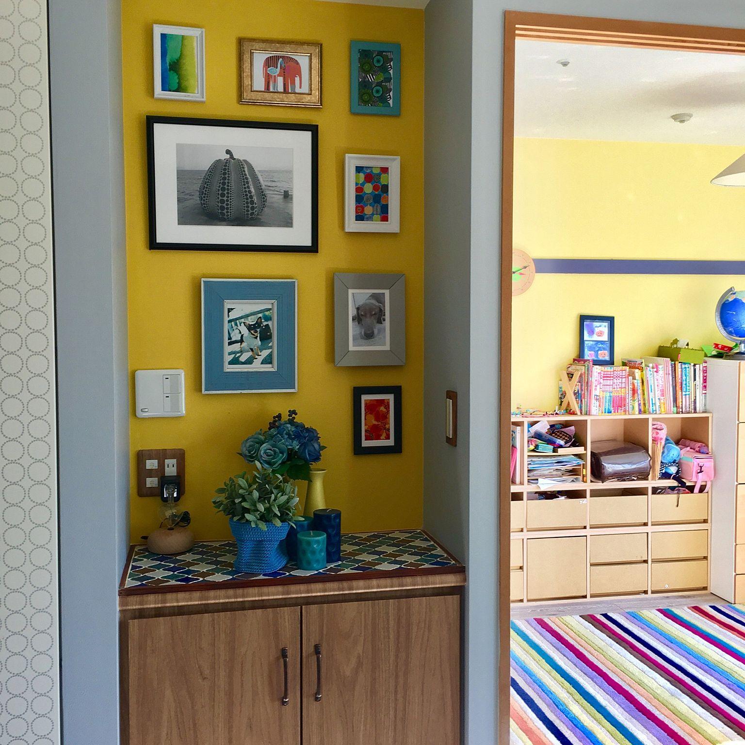タイルシールとIKEAのアイテムで飾るお気に入りスペース